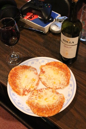 Why yes, I also like to live dangerously. The wine pairs well with the processed notes of microwaved pizza.